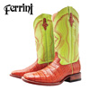 Ferrini Belly Caiman Boots