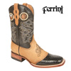 Ferrini Teju Lizard Boots - Black