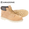 Amazonian Steel Toe Work Boots - Wheat