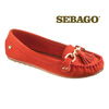 Sebago Cypress Moccasins - Red