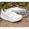 Womens Winner Strap Shoes - White