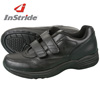 InStride Leather Strap Shoe - Black