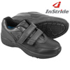 InStride Womens Leather Strap Shoes - Black