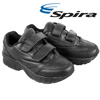 Spira Womens EZ Strap Shoe - Black
