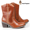 Hush Puppies Waterproof Boots - Tan