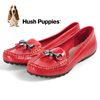 Hush Puppies Dalby Slip-Ons - Red