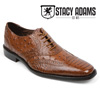 Stacy Adams Ostrich Print Shoes