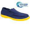 Island Surf Slip-Ons - Navy/Yellow
