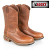 Rocky Ride Western Steel Toe Boots