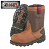 Rocky Steel Toe Wellington Boots