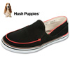 Hush Puppies Slip-Ons - Black