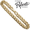 Oval Curb 14k Gold Bracelet