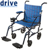 Fly Lite Lightweight Transport Wheelchair