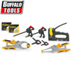 7 Piece Clamp &amp; Staple Gun Kit