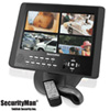 Space Saving 4 Channel DVR with 10.2 Inch LCD - 320GB