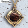 Widows Mite Gold-Tone Pendant