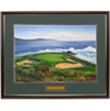 Pebble Beach #7 Framed Art