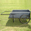 Heavy Duty Wooden Cart