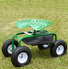 Tractor Seat on Wheels