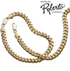 Oval Curb 14k Gold Necklace and Bracelet