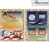 America Takes Flight Coin &amp; Stamp Collection