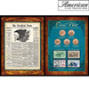 New York Times Civil War Coin &amp; Stamp Collection