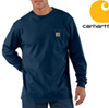 Carhartt Long-Sleeve Workwear Shirt - Navy