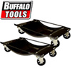 1,000 Pound Steel 2 Piece Car Dolly Set