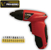 4.8 Volt Cordless Screwdriver
