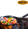 BBQ Non-Stick Skillet Basket