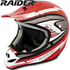 Raider� MX-3 Helmet - Red