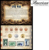 Civil War Coin... Stamp Collection