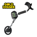 Metal Detector With LCD Display