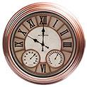 Indoor/Outdoor Clock Thermometor - 39.99