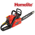 Homelite 16 inch Gas Chain Saw - $119.99