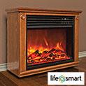 Lifesmart Fireplace - 144.43