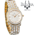 Bulova Swarovski Crystal Watch - $299.99