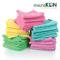 MicroKlen Towels - 50 Pack