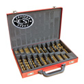 214 Piece Titanium Drill Bit Set