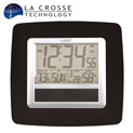 LaCrosse Solar Atomic Clock - Black - $22.21