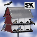 16 Room Purple Martin House