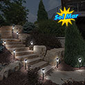 10 Piece Color Changing Solar Lights - 17.99