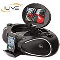 iLive DVD Boombox - 61.1