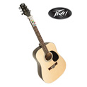 Peavey Acoustic Guitar with Chord Buddy