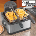 Dual Deep Fat Fryer - 49.99