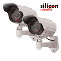 Simulated Security Cameras - Set of 2