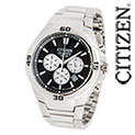 Citizen Quartz Stainless Chrono Watch - 77.77
