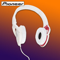 Pioneer Steez Headphones - White - $39.99
