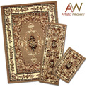 3-Piece Apex Rug Set - Tan - $49.99