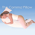 The Comma Pillow - $24.99